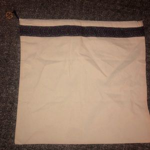 Tory Burch Canvas Drawstring Dust Bag
